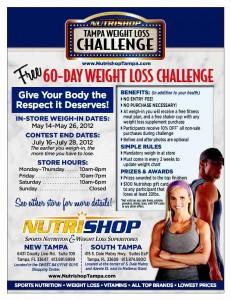 Nutrishop Weight Loss Challenge