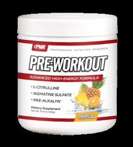Get your PNR Pre-workout Drink