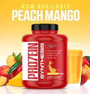 Peach Mango Pro7ein Synthesis